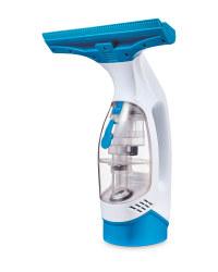 Tower Blue & White Window Vacuum