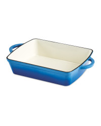 Kirkton House Cast Iron Roaster - Blue