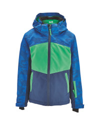 Children's Blue Green Ski Jacket