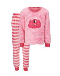 Children's Monster Fleece Pyjamas