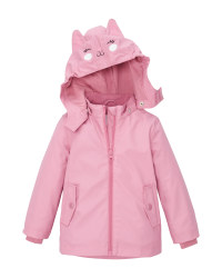 Lily & Dan Infant's Pink Raincoat