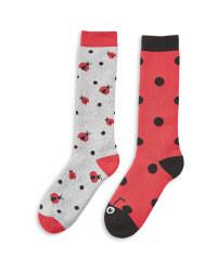 Children's Ladybird Welly Socks