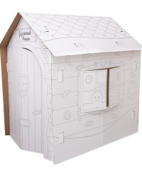Colour In Gingerbread Playhouse