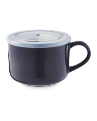 Kirkton House Block Mug with Lid