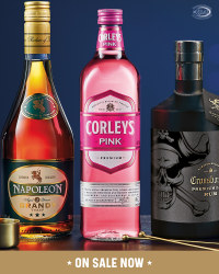 Corley's Sweet Pink Gin