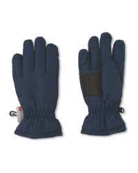 Crane Junior Blue Ski Gloves