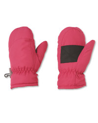 Crane Junior Pink Ski Mitts
