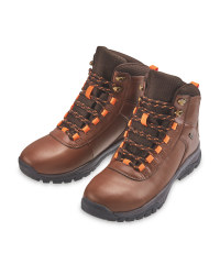 Crane Ladies' Brown Walking Boots