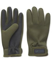 Crane Green Fishing Gloves