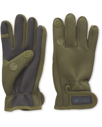 Crane One Fold Green Fishing Gloves