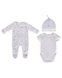 Organic Stars Three Piece Gift Set