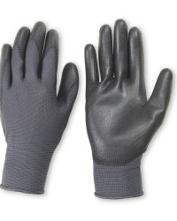 Dark Grey Work Gloves 2 Pack