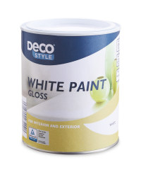Deco Style White Gloss Paint