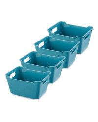 Design Living Boxes 1.8L 4 Pack - Blue