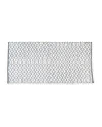 Diamond Grey Decorative Rug