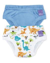 Dinosaur Potty Training Pants 2 Pack