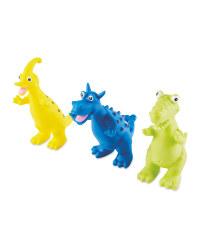 Nuby Dinosaur Bath Toys 3 Pack