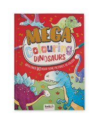 Dinosaurs Mega Colouring Book
