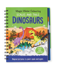 Dinosaurs Water Colouring Book