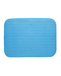 Dish Drying Mat - Blue