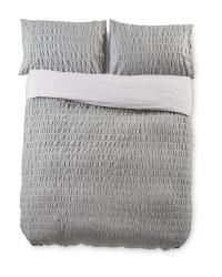 Double Chambray Cotton Duvet Set