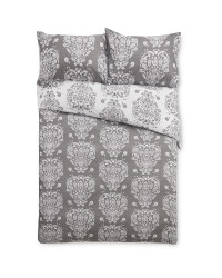 Double Scandi Heart Duvet Set