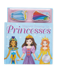 Dress Up Princess Magnetic Play Book