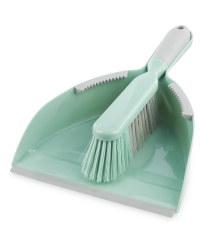 Dustpan & Brush - Pistachio/Grey