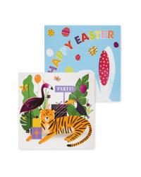 Easter Greetings Cards 8 Pack