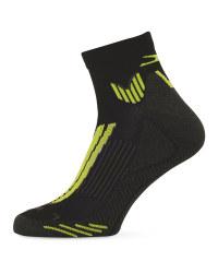 Editor's Choice Running Socks - Lime/Black