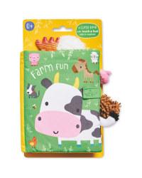 Farm Fun Cloth Book