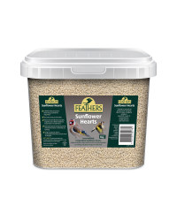 Feathers 5kg Sunflower Hearts