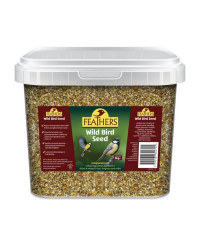 Feathers 5kg Wildbird Seed Mix