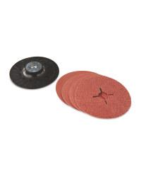 Fibre Disc Set with Plastic Holder