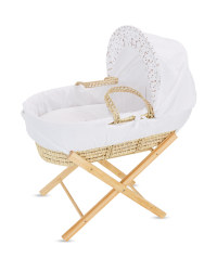 Fox Moses Basket With Stand