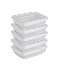 Fresh And Freeze Boxes 500ml 5 Pack