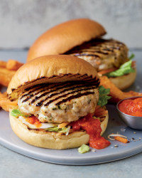 Fresh Irish Turkey Burgers