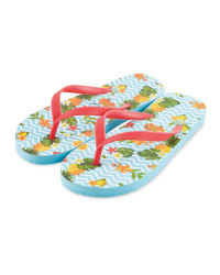 Children's Fruit Flip Flops
