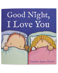 Goodnight I Love You Picture Book
