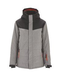 Grey Junior Snow Jacket