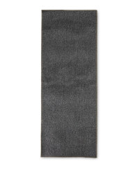Grey Washable Runner