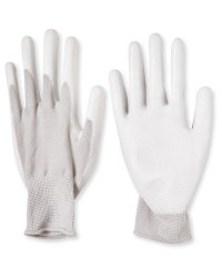 Grey Work Gloves 2 Pack
