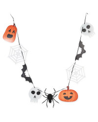 Halloween Party Character Bunting