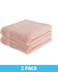 Kirkton House Hand Towels 2 Pack - Blush Pink