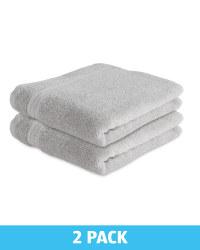 Kirkton House Hand Towels 2 Pack - Light Grey