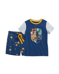 Blue Hogwarts Kids' Pyjamas