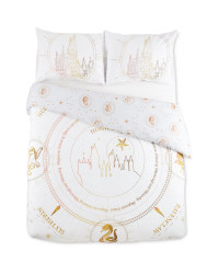 Harry Potter Castle Double Duvet Set