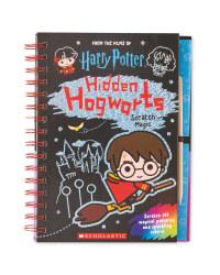 Hidden Hogwarts Scratch Magic Book