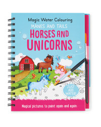 Unicorns Water Colouring Book