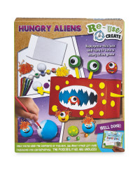 Hungry Aliens Re-Use & Create Kit